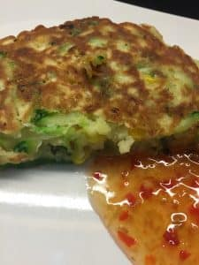 Courgette & Sweetcorn Fritters