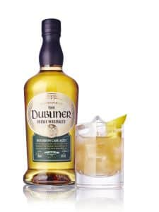 Dubliner Whiskey Treacle Cocktail with apple