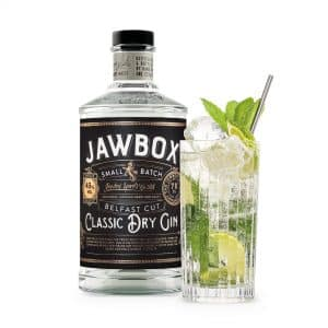 446061 JAWBOX GIN MOJITO WITH BOTTLE