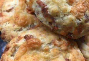 cheese & bacon scones