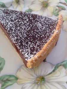 Chocolate Tart - so good and amazingly rich and smooth