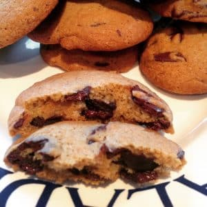 Retro Choc Chip Cookies