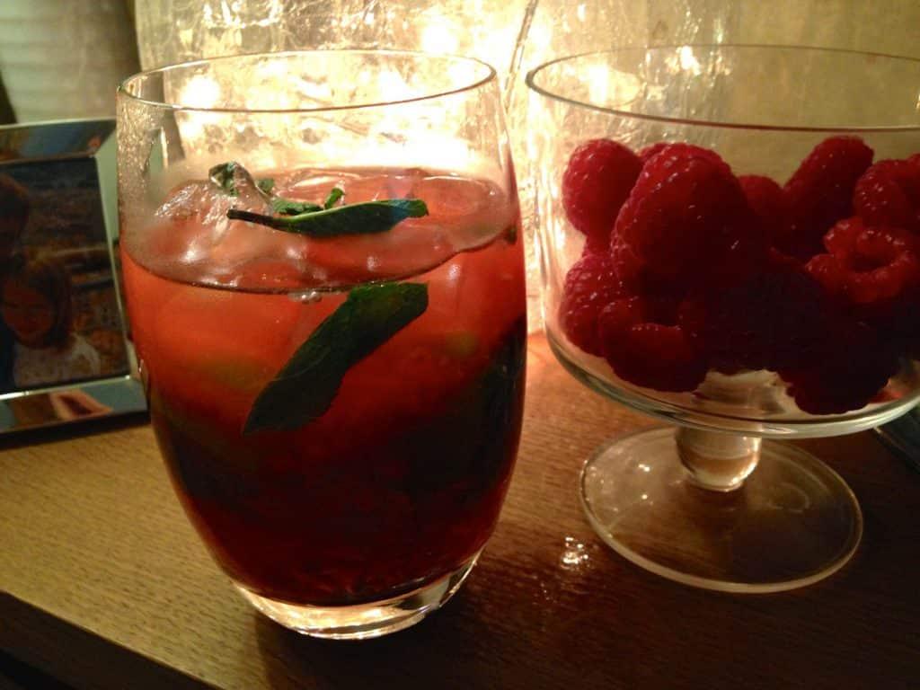 Raspberry Mojhito