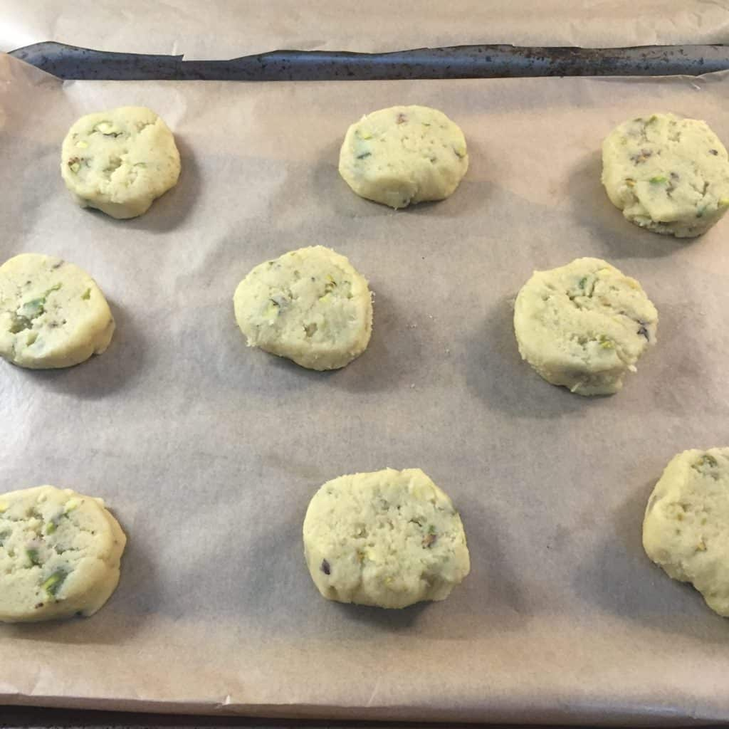 Pistachio & Lime Biscuits
