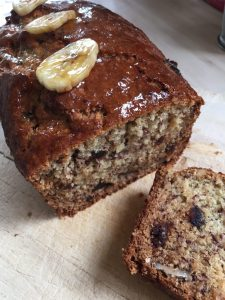 Banana Date & Walnut Loaf
