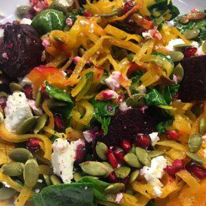 butternut beet salad