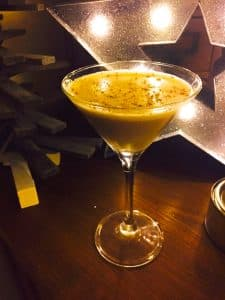 Christmas Chocolate Martini