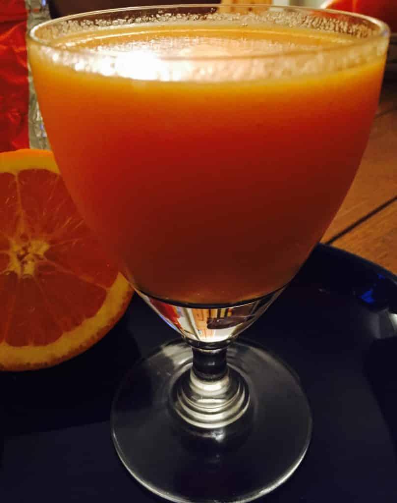Sharon fruit smoothie