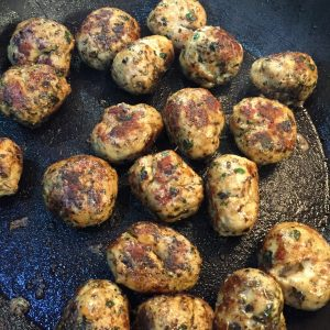 Herby Chicken Italia Meatballs