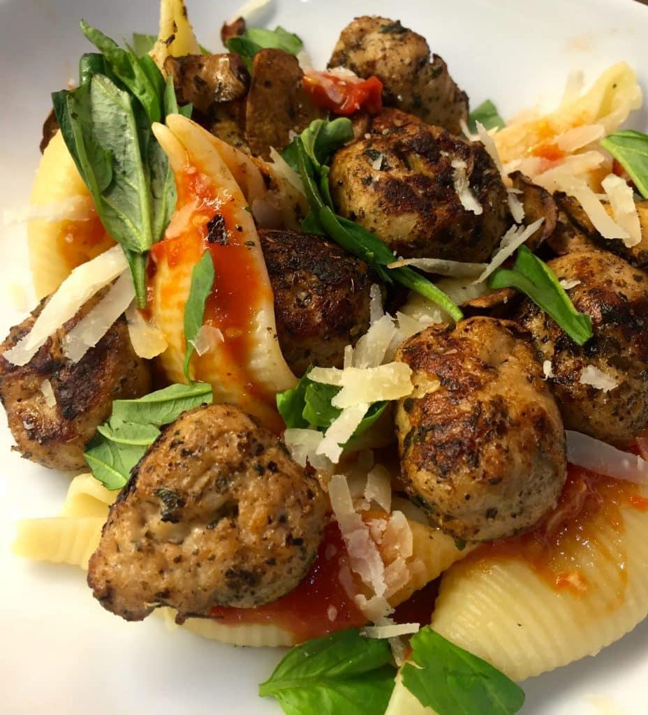 Herby Chicken Italia Meatballs