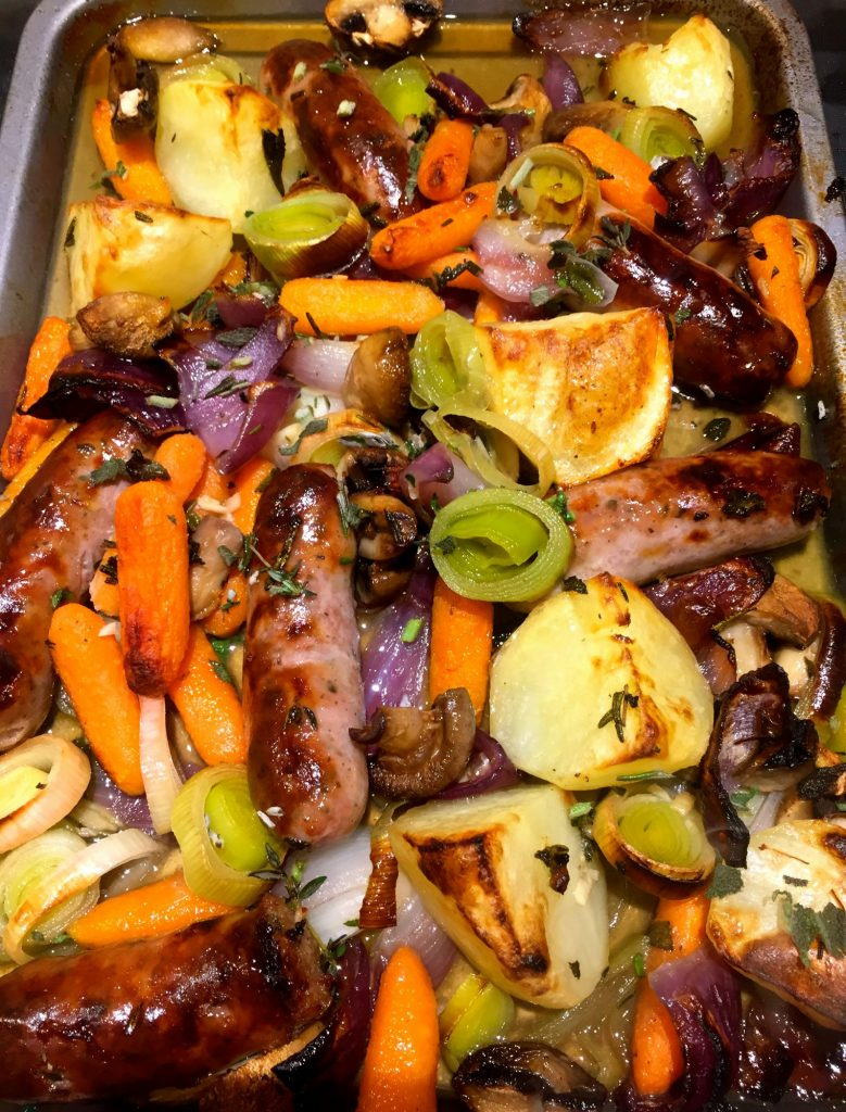 Honey & Herb Sausage Bake