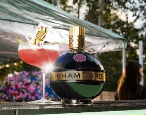 Chambord's Queen of Hearts Cocktail.