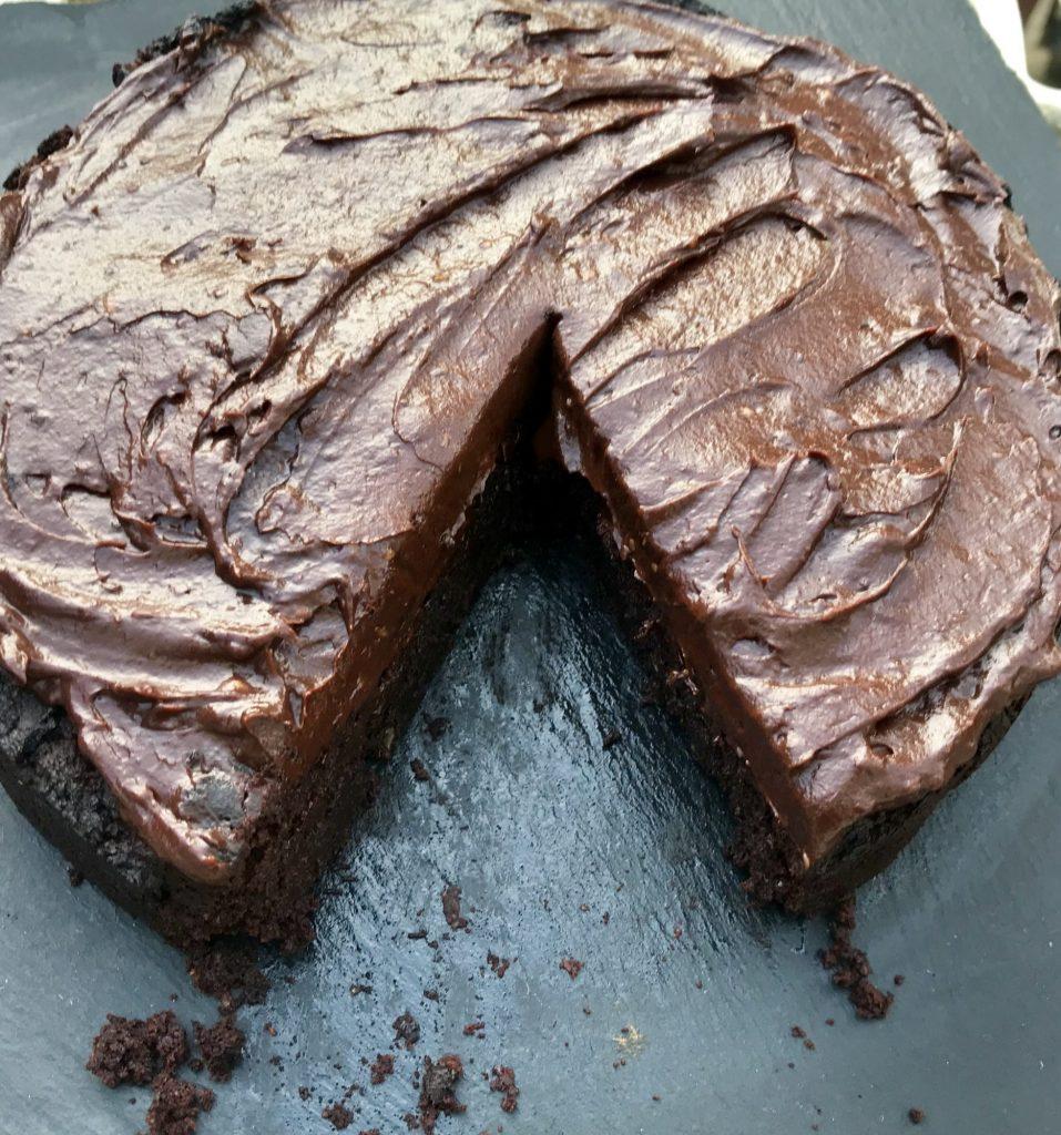 VEGAN cocoa bean cake