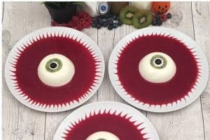 Halloween Jelly Eye Desserts