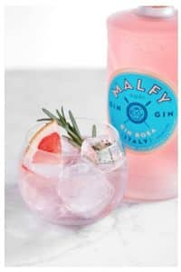 Malfy Gin Cocktails for Valentine's Day