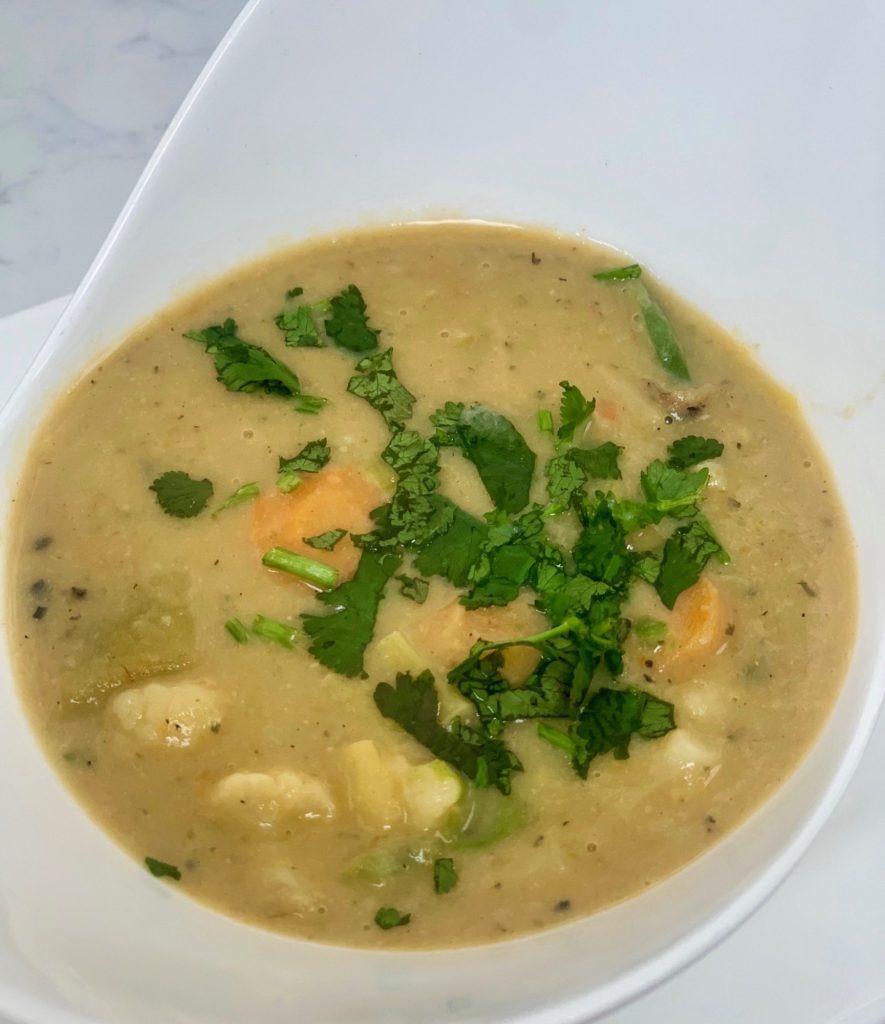 Healthy Creamy Vegetable Soup SW