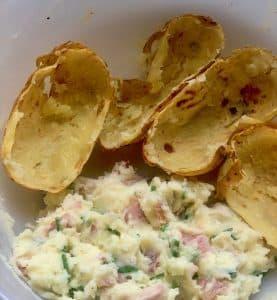 Healthy Stuffed Jacket Potatoes