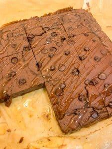 Chocolate Brownies Slimming Style