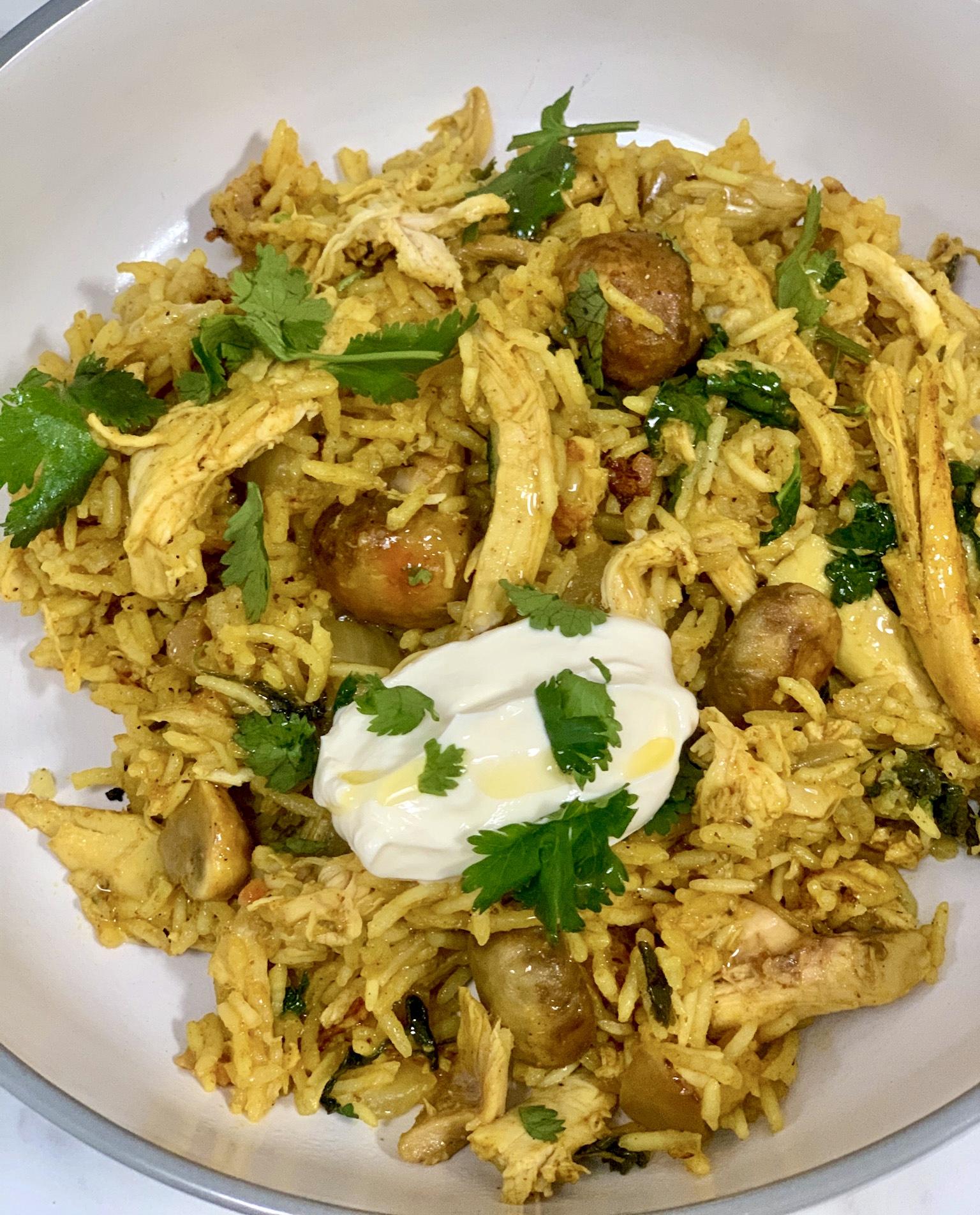 Leftover Turkey Biryani Easy Easy Peasy Lemon Squeezy