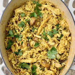 Chicken Biryani - Easy - finished dish