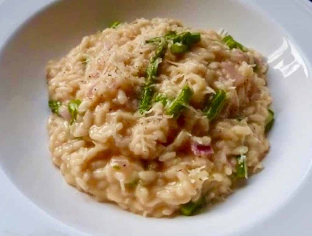 Easy Asparagus Risotto