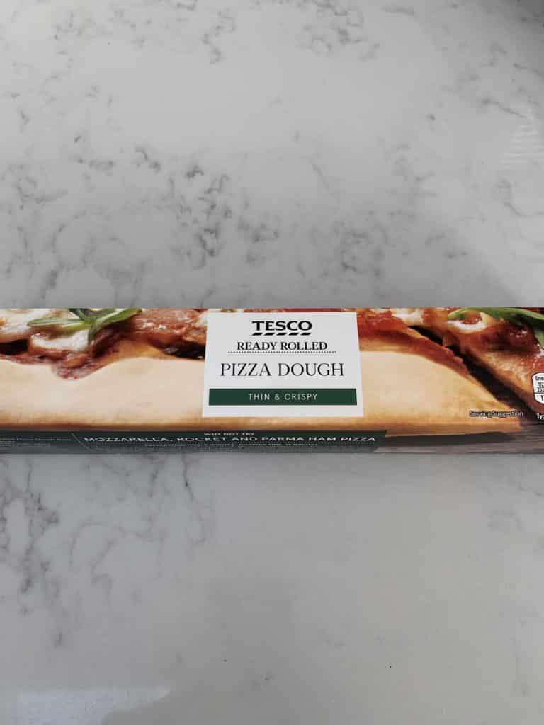 Halloween Pizza - pizza dough
