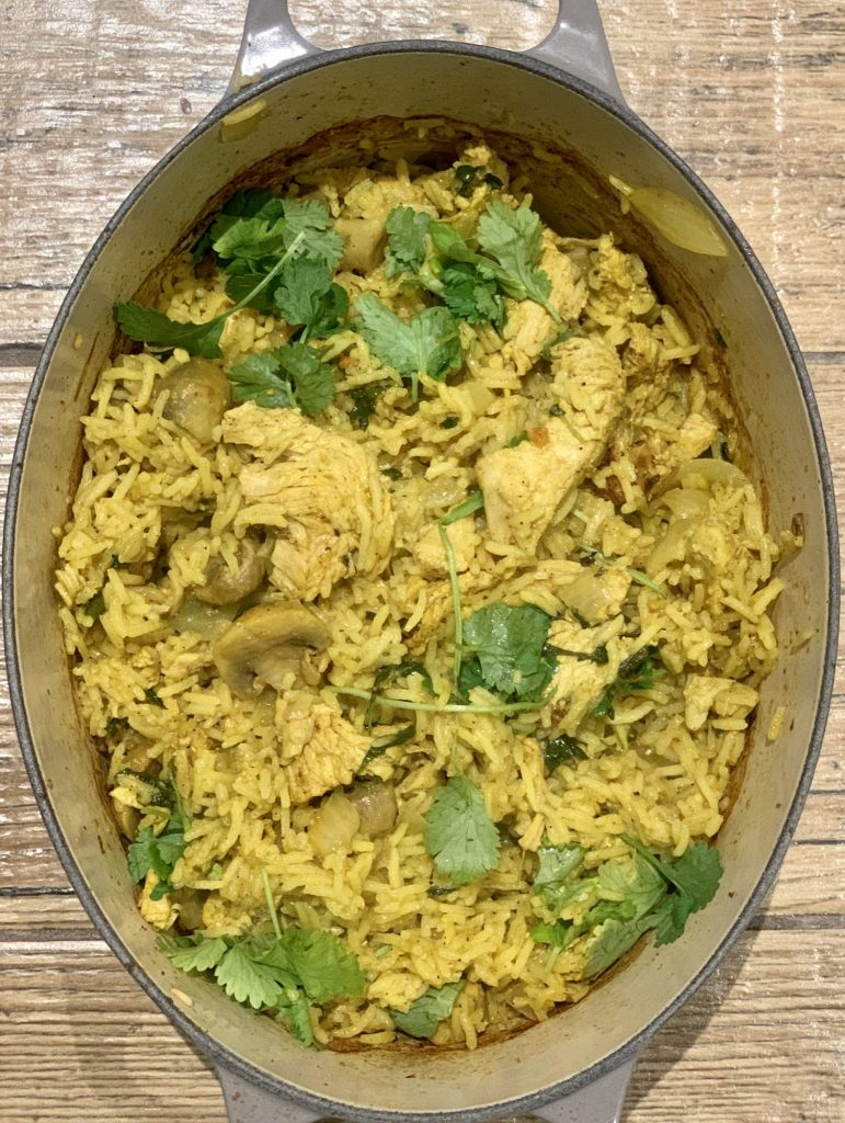 Leftover Turkey Biryani